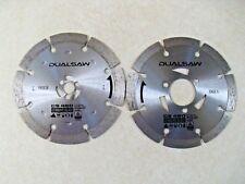 DualSaw Everyday CS450 Diamond OEM Replacement 2 Blade Set Dual Saw Masonry