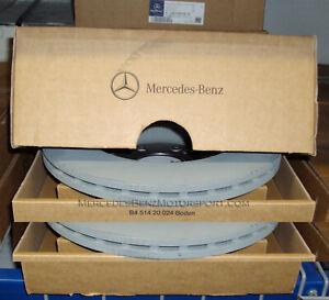 Mercedes-Benz OEM Rear Brake Rotors Disks 2021 C 300 Cabriolet (A205) Set of 2