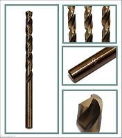 1pc cobalt drill bit Co steel alloys Straight Shank Twist Drilll 12.1mm to 15mm