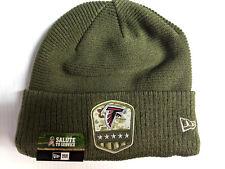 Atlanta Falcons Knit Hat New Era 2019 On Field Salute to Service Cap NFL