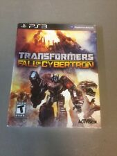 Transformers: Fall of Cybertron (Sony PlayStation 3) **Brand New**