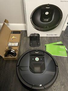 iRobot Roomba 980 Robotic Vacuum, Wi-Fi App, CarpetBoost, Outstanding Condition