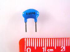 ACT 3.68MHZ 100V 0.5% CERAMIC RESONATOR X1 25 pieces OM1107