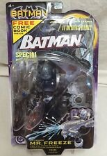 BATMAN -MR FREEZE FIGURE-NO GOGGLES -JIM LEE COMIC MISP-NM ANGRY FACE-Flawless!!