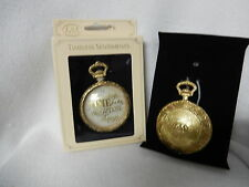 CHRISTMAS TIMELESS SENTIMENTS WATCH ORNAMENT-ALWAYS TIME FOR THE IMPORTANT THING