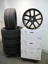 "22"" Dodge Ram 1500 SRT10 Style Matte Black Wheels and 305-40-22 Nexen Tires 2223"