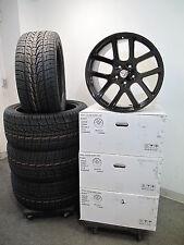"22"" Dodge Ram 1500 SRT10 Style Matte Black Wheels and 305-45-22 Nexen Tires 2223"