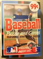 1988 Donruss Card Cello Pack Sid Fernandez Mets (Top) Johnny Ray Angels (Back)