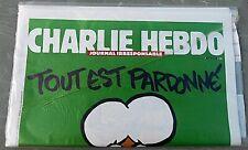 """CHARLIE HEBDO """"Tout est pardonné"""" 14 janvier 2015, n°1178 / neuf sous blister"""