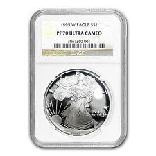 1995-W Proof Silver American Eagle PF-70 NGC (Registry Set) - SKU #60166