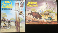 Jolliffe's Outback 116 Cartoons Australiana Witchetty's Tribe Saltbush 2 Books