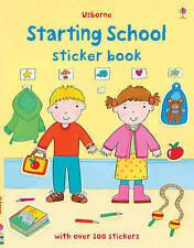 Starting School Sticker Book by Felicity Brooks (Paperback, 2011)
