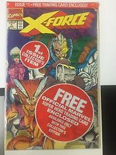 X-FORCE #1 , Deadpool Insert card (1991)  FREE SHIPPING