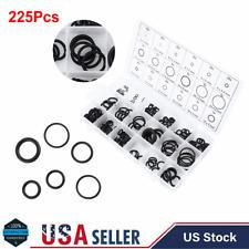 225pcs Universal Rubber O-Ring Metric Assortment Set Gasket Seals Gasket Kit