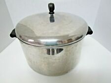 Farberware 8Qt. stock pot stainless steel aluminum clad bottom made in USA