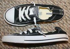 New! Girls Converse Shoreline Slip Shoes (Chuck Taylor; All Star; Black) Size 1