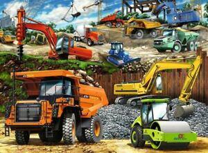Ravensburger Construction Vehicles 100 Pieces Jigsaw Puzzle Jigsaw Puzzle