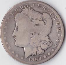 "1893 CC ""MORGAN"" Dollar-USA Carson City Comme neuf-ARGENT 0.900"