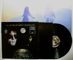 The Sisters of Mercy Original Merciful UK LP 1987 Hype Stickers