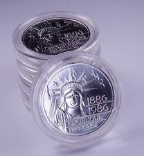 1986 BU FRANCE SILVER 100 Francs 100th Anniversary Statue of Liberty Piedfort #6
