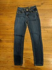 Seven 7 Jeans High Rise Skinny Medium Wash Womens Jeans 26