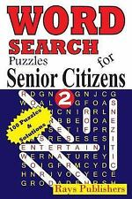 Word Search Puzzles for Senior Citizens: Word Search Puzzles for Senior...
