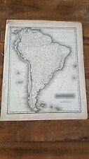 SOUTH AMERICA - Antique Map, Circa 1817 by A. Constable & Co, Edinburgh