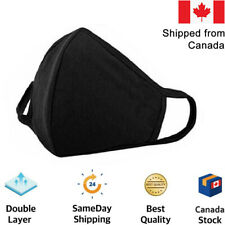 3D Layers 100% Cotton Washable Face Mask/Cloth Reusable /Ships fast from Canada
