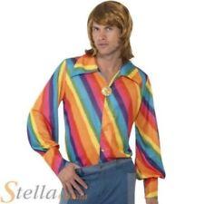 Disfraces de hombre en color principal multicolor de poliéster Años 60