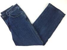 Duluth Trading Company Womens Straight Leg Jeans 6 x 29 (29 x 28.5) Denim Blue
