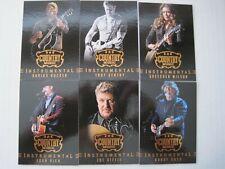 2014 Panini Country Music Instrumental Insert Set  (15 Cards)