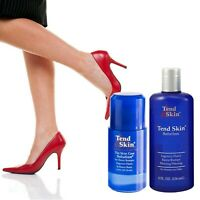 Tend Skin Solution 8oz+Roll On INGROWN HAIR RAZOR BUMPS BURNS-Exp08/20