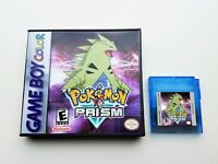 Pokemon Prism Game + Case v0.94 b235 2019 - Game Boy Color - Fan GBC Custom USA