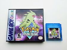 Pokemon Prism (2018) + Case v0.94 Build 229 - Game Boy Color - Fan GBC Custom