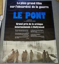 Affiche de cinéma : LE PONT de Bernhard WICKI