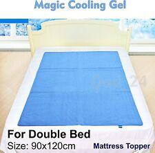 Cama doble magia Gel Refrescante Azul Cool Pad Mat Ortopédico Colchón para grandes