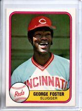 1981 FLEER GEORGE FOSTER (NM/MT)