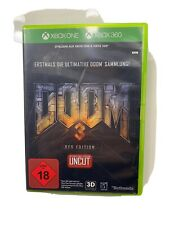 Microsoft Xbox 360 game Doom 3 BFG Edition boxed