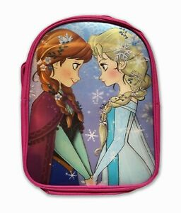 Official Frozen Sisters Elsa & Anna Graphic Rucksack Backpack Bag