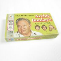 Vintage 1972 All In The Family Archie Bunker's Card Game Milton Bradley COMPLETE