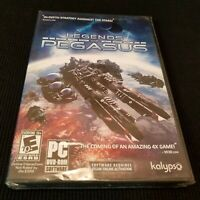 NEW! 2012 LEGENDS of PEGASUS kalypso Strategy Game PC DVD-ROM SOFTWARE