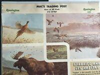 Mac's Trading Post Old West Calendar 1978 Remington Guns