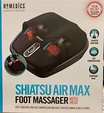 Homedics - Shiatsu Air Max foot massager with heat - fms-307hj