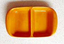 BOCH Vintage - Petit plat orange à compartiments - Années 50-60