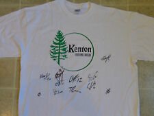 KENTON portland oregon T-SHIRT XL sports team autographed PDX OR signatures