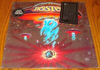 BOSTON ORIGINAL FIRST ALBUM FIRST PRESS ALBUM IN SHRINK WITH STICKERS  1976