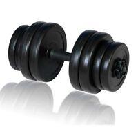 Manubrio con pesi intercambiabili pesi fitness Manubrio Palestra 15 Kg
