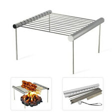 Portable Stainless Steel BBQ Grill Folding Mini Pocket Barbecue for Home Outdoor