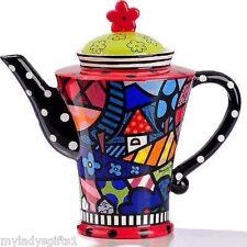 Romero Britto Ceramic Teapot Home