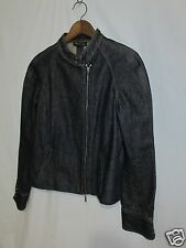 Kenneth Cole Women 12 Jean Jacket Blue Denim Short